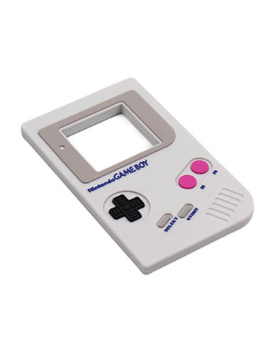 Bumkins Nintendo Game Boy Silicone Teethers-GREY-One Size