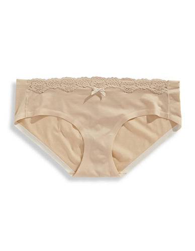 Maidenform Lace Hipsters-BEIGE-7