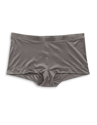 Maidenform Dream Boy Shorts-STEEL GREY-7