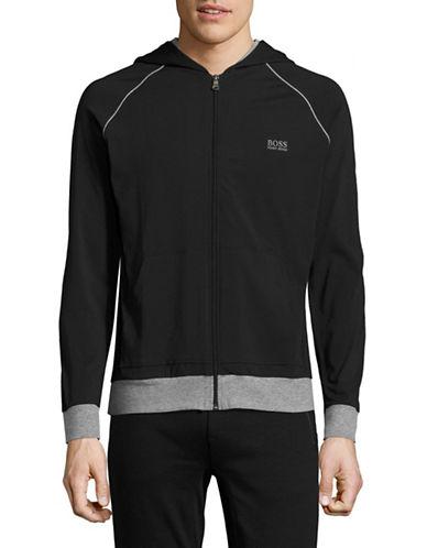 Boss Hooded Jacket-BLACK-Small 89093696_BLACK_Small