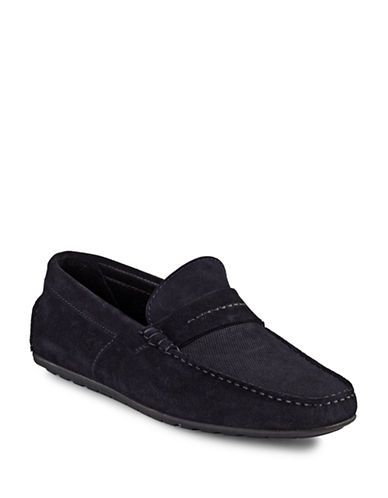 Hugo Suede Moccasins-DARK BLUE-9