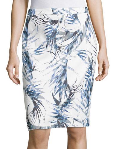 Hugo Ranine Printed Skirt-MULTI-EUR 34/US 2