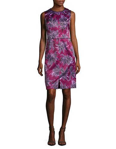 Hugo Klenni Floral-Printed Sheath Dress-MULTI-EUR 34/US 2