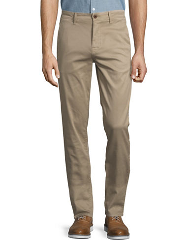 Boss Orange Schino Tapered Pants-BEIGE-33X34
