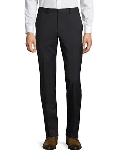 Hugo Wool-Blend Dress Pants-BLACK-36