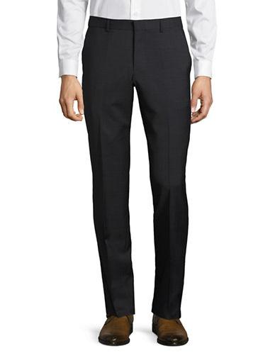 Hugo Wool-Blend Dress Pants-BLACK-34