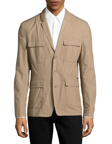 Boss Orange Bali Multi-Pocket Jacket-BEIGE-38