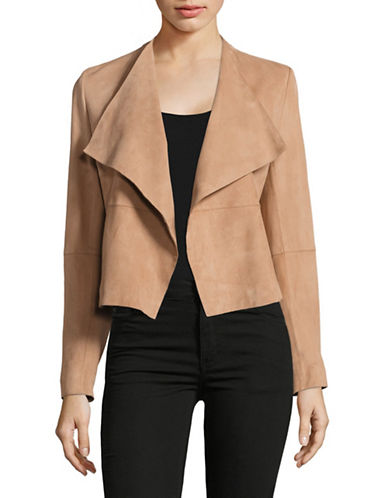 Hugo Lariani Suede Jacket-BROWN-X-Small 89025870_BROWN_X-Small