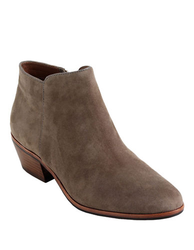 Sam Edelman Petty Suede Ankle Boots-PUTTY-5.5