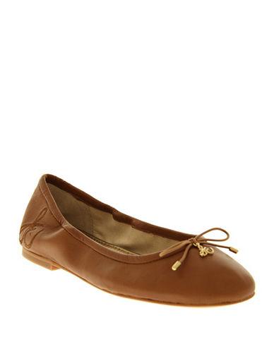 Sam Edelman Felicia Ballet Flats-SADDLE-7