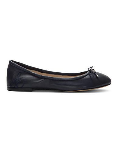 Sam Edelman Felicia Ballet Flats-NAVY LEATHER-5.5