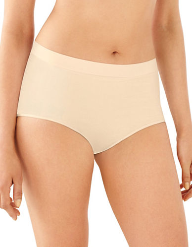 Bali Seamless All Around Smoothing Briefs-BEIGE-XX-Large