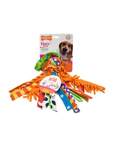 Nylabone Duratoy Happy Moppy Dog Toy-NO COLOUR-Medium