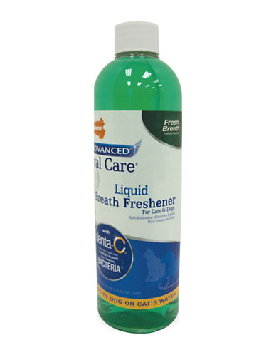 Nylabone Oral Care Liquid Breath Freshener for Cats and Dogs-NO COLOUR-16 Ounces