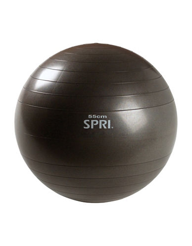 Gaiam Xercise Ball - 55cm-GREY-One Size