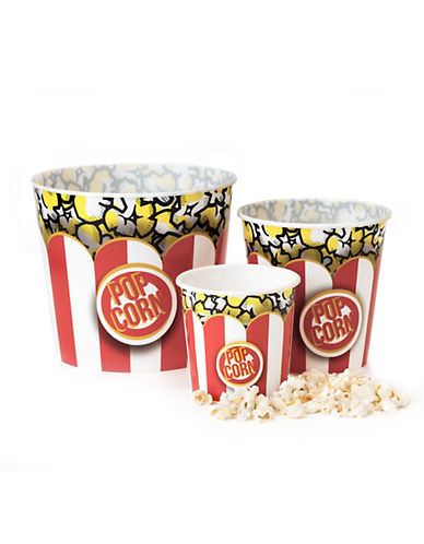Wabash Authentic Movie Night Popcorn Tub-YELLOW-Small