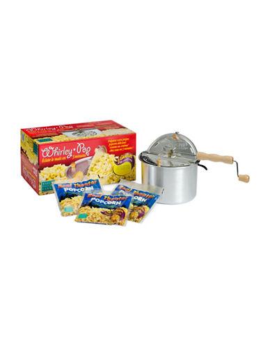 Wabash Stovetop Popcorn Popper Set-SILVER-One Size