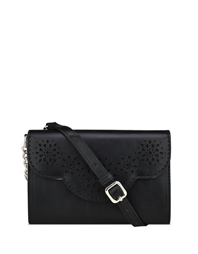 Nine West Aleksei Cut-Out Crossbody Bag-BLACK-One Size