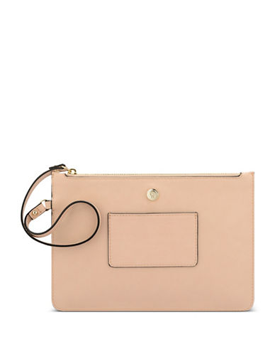 Nine West Table Treasures Zip Case-BEIGE-One Size