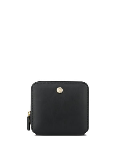 Nine West Table Treasure Zip Wallet-BLACK-One Size