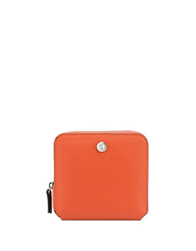 Nine West Table Treasure Zip Wallet-ORANGE-One Size