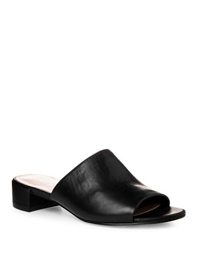 Nine West Raissa Open Toe Slides-BLACK-6.5