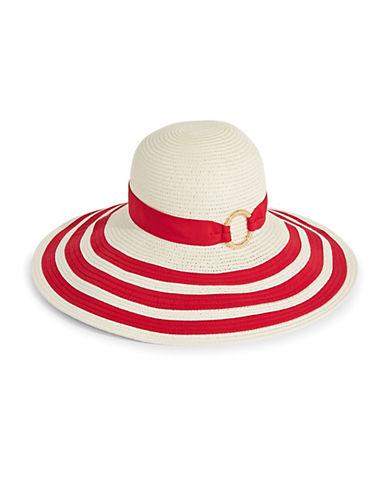 Striped Packable Sun Hat by Lauren Ralph Lauren