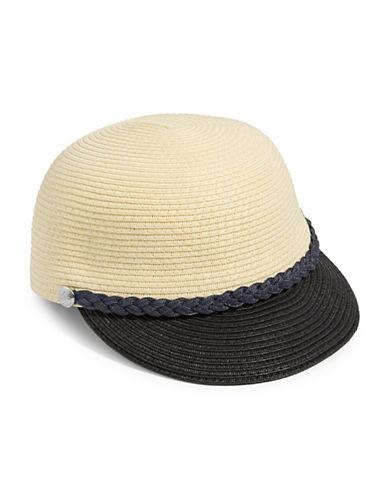 Lauren Ralph Lauren Woven Fisherman Cap-BLACK-One Size