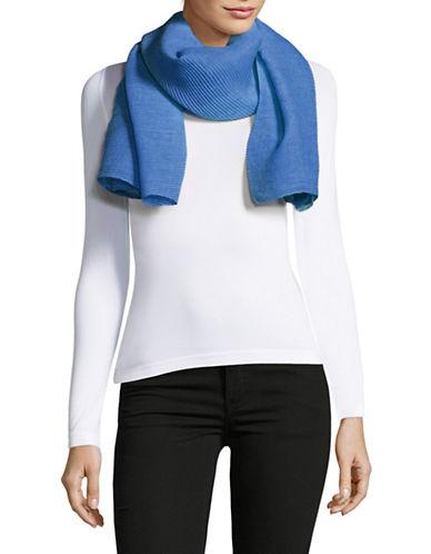 Lauren Ralph Lauren Pleated Oblong Scarf-BLUE-One Size