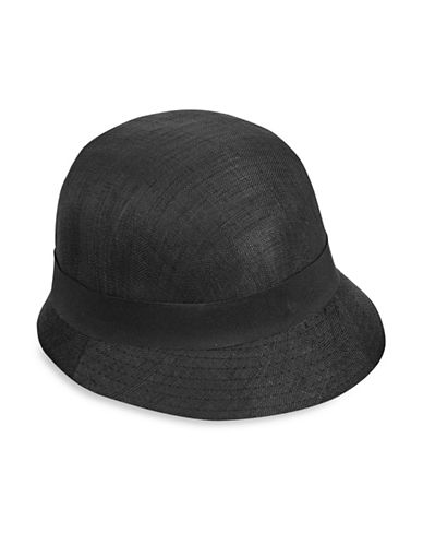 Lauren Ralph Lauren Cloche Hat-BLACK/BLACK-One Size