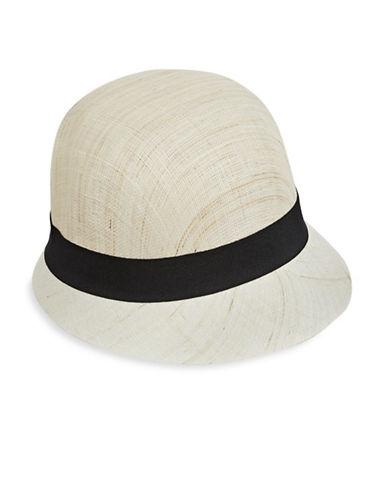 Lauren Ralph Lauren Cloche Hat-NATURAL/BLACK-One Size