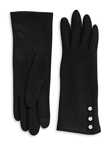Lauren Ralph Lauren Classic Touch Gloves-BLACK-Small