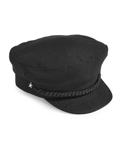 Lauren Ralph Lauren Fisherman Cap-BLACK-One Size