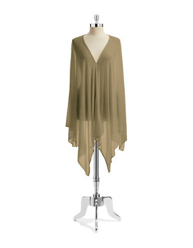 Echo Lightweight Ruana-KHAKI-One Size