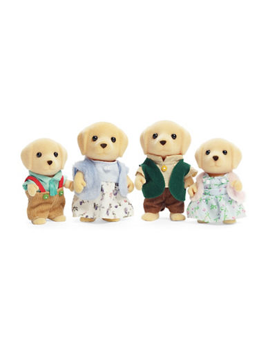 Calico Critters Yellow Lab Family-MULTI-One Size