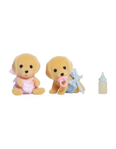 Calico Critters Yellow Lab Twins-MULTI-One Size