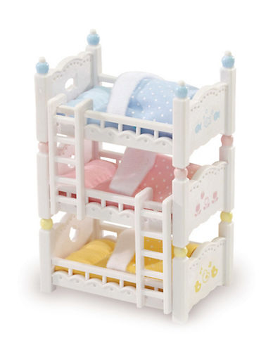 Calico Critters Triple Baby Bunk Beds-MULTI-One Size