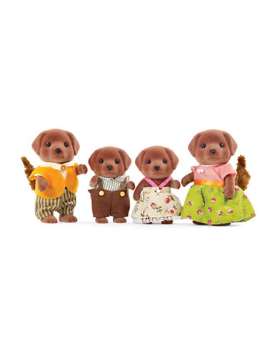 Calico Critters Chocolate Lab Family-MULTI-One Size