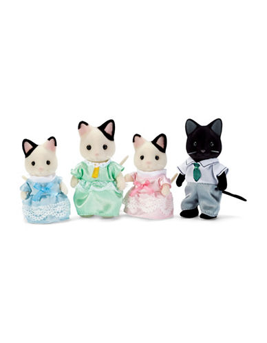 Calico Critters Tuxedo Cat Family-MULTI-One Size