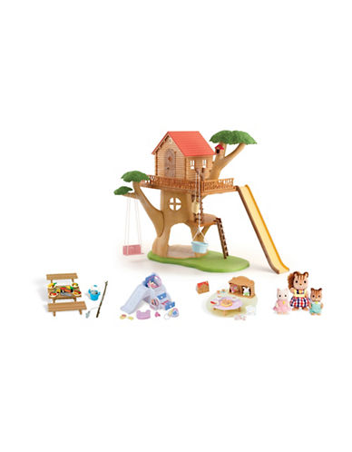 Calico Critters Adventure Treehouse Gift Set-MULTI-One Size