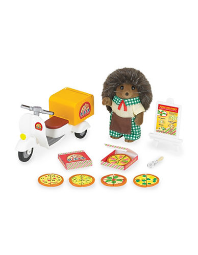 Calico Critters Pizza Delivery Set-MULTI-One Size