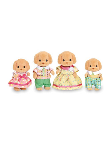 Calico Critters Toy Poodle Family-MULTI-One Size