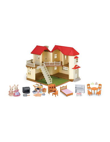 Calico Critters Luxury Townhome Gift Set-MULTI-One Size