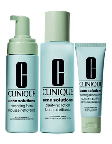 Clinique Acne Solutions Clear Skin System Starter Kit-NO COLOUR-One Size