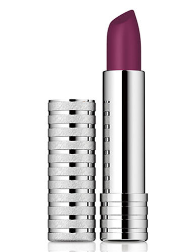 Clinique Long Last Lipstick Soft Matte-PLUM-One Size