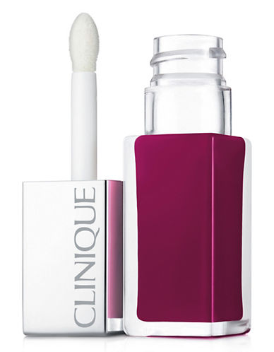 Clinique Pop Liquid Lip Lacquer and Primer-PEACH-One Size