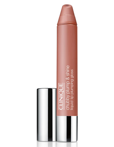 Clinique Chubby Plump and Shine Liquid Lip Plumping Gloss-NORMIOUS NUDE-One Size