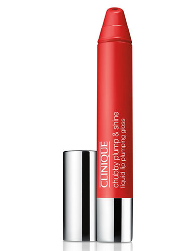 Clinique Chubby Plump and Shine Liquid Lip Plumping Gloss-SUPER SCARLET-One Size