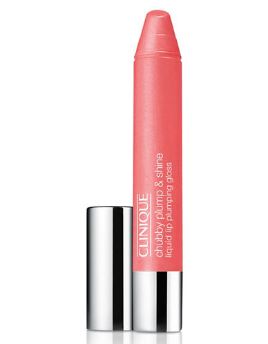 Clinique Chubby Plump and Shine Liquid Lip Plumping Gloss-PORTLY PEACH-One Size