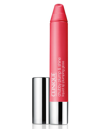 Clinique Chubby Plump and Shine Liquid Lip Plumping Gloss-POWERHOUSE PUNCH-One Size